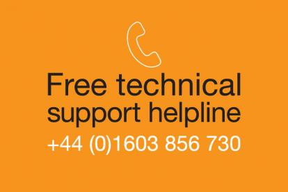 Free technical support helpline